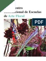 Reportaje II Encuentro Internacional de Escuelas de Arte Floral