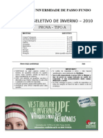 Prova-2010-UPF-INVERNO
