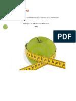 Introduccion a La Evaluacion Nutricional