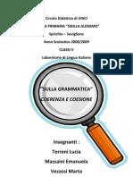 Documentazione '09 - Coerenza e Coesione