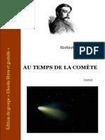 H G Wells - Au Temps de La Comete