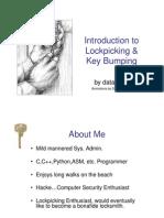 Dr Bint Book On Lock Picking
