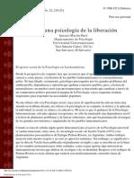Martin Baro-Hacia Una Psicologia de La Liberacion