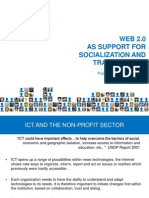 WEB 2.0AS SUPPORT FORSOCIALIZATION AND TRAINING IN ICT
