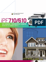 Brochure 12 iPF610, 710
