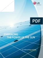 Embracing the Power of the Sun LG Brochure