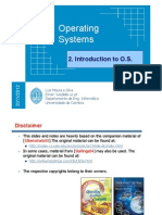 Slides 2 Operating Systems