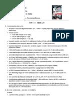 SINTESI DATI XI Rapporto su povertà Italia 2011