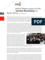 The Geopolical Repercussions of the Jasmine Revolution on North Africa