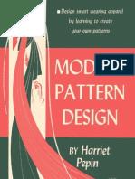 Modern Pattern Design Harriet Pepin