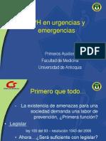 APH en Urgencias y Emergencias