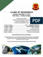 Sea World Holiday Party 2011
