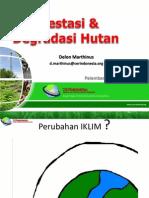 Deforestasi & Degradasi Hutan Palembang