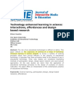 Paper (JiME)_Technology Enhanced Learning in Interactions, Affordances and Design-based Research_201008