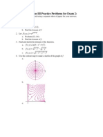Calculus III Practice Exam