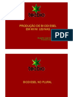Maquete Biodiesel
