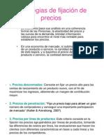 Estrategias de Fijacic3b3n de Precios