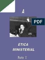 Etica Ministerial Parte 1