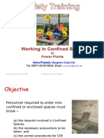Working in Confined Space