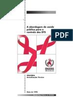 A abordagem de saúde pública para o controle das DTS Actualização Técnica da ONUSIDA