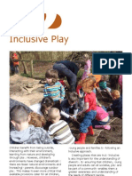 Inclusive Play - Sensory Therapy Gardens Manual