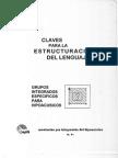 48830626 Claves Para La Estructuracion Del Lenguaje