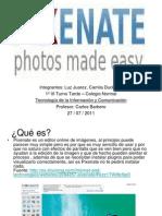 Pixenate. Juarez Duckardt POWER POINT