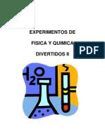 Fisica y Quimica Experimentos Caseros Diver Ti Dos II
