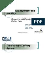 Portfolio Management Andthe PMO-Shelley Gaddie