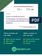 Examenes en El Pac Diabetico