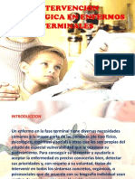 Intervencion Psicologica en Enfermos Term in Ales