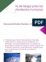 Factores de Riesgo Para Los Asentamientos Humanos