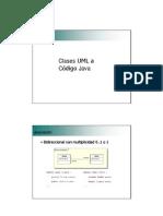 6. UML a Codigo Java