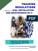 TR-Elec Inst & Maint NC II Amended)