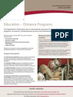 Distance Education Web