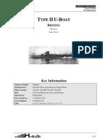 German U-Boat Type II Anatomy