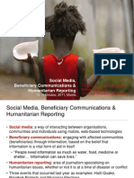 Thin Lei Win - Social media, beneficiary communications and humanitarian reporting - Manila 14 Oct 2011