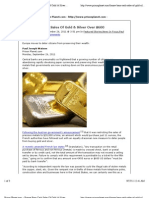 France Bans Cash Sales of Gold - Silver Over 600