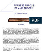 Japaneese Abacus - Its use and theory