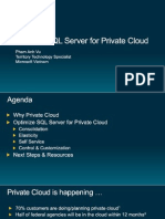 Overview Presentation - SQL Server for Private Cloud