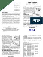 UVP UV Operating Instructions
