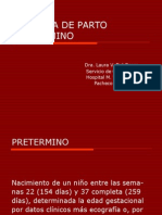 AMENAZA DE PARTO     PRETERMINO I