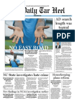 The Daily Tar Heel for October 19, 2011