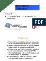 Tecnologia de Memorias AC Curso 04-05