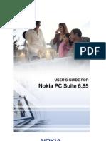 Nokia PC Suite 685 UG Eng Us
