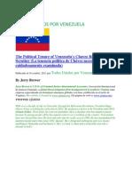 La tenencia politica de Chávez necesita ser cuidadosamente examinada