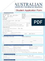 AITT International Student Application Form
