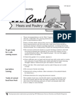 Canning Meat