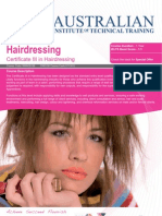 Certificate III in Hairdressing