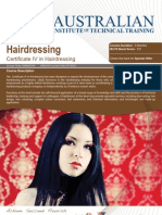 Certificate IV in Hairdressing